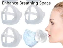 <b>3D Mouth Mask Support</b> Breathing Stand Respirator Part for Mask ...