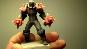<b>World of Warcraft</b> custom 3d figure print - YouTube