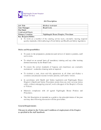 resume helper kitchen resume objective kitchen helper