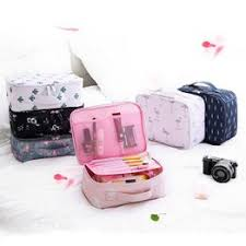 Oxford Cloth Cosmetic Bag Portable Large Capacity ... - Vova