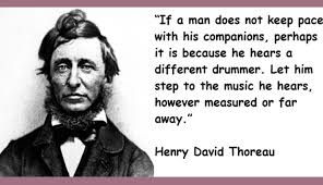 henry david thoreau  a transcendentalist   daily sun comin his early years  he followed transcendentalism  a loose and eclectic idealist philosophy advocated by emerson  fuller