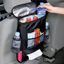 Black <b>Car</b> Back Seat Organizer <b>Storage Bag Car Hanging</b> Bag Multi ...