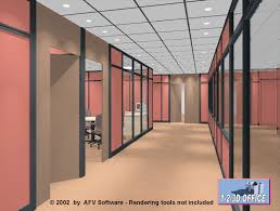 click to view autocad design space planning in 3d 17 cad office space layout