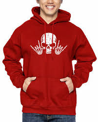 Rock N' Roll <b>Skull</b> - Music <b>Hardcore Punk</b> Metal Hoodie | eBay