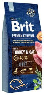 Купить <b>сухой корм</b> для собак <b>Brit Premium</b> By Nature Light ...