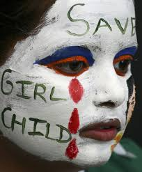 photo story   female feticide and infanticide in indiathe problem of female feticide and infanticide is urgent and needs to be heard about worldwide  the girl in this photo wears bright  attention grabbing face