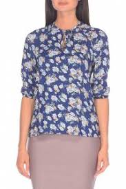<b>Блуза Alina</b> Assi 15-503-201 (синий) — купить по цене 2 590 руб ...