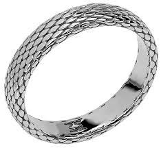 Эстет <b>Кольцо коллекции Totem Snake/Змея</b> из серебра 01О050326