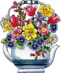 """Résultat de recherche d'images pour """"gif bouquet de fleurs de printemps"""""""