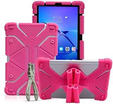 CHINFAI 8.9~10.1 inch <b>Tablet Case</b>, 2nd Gen Universal <b>Silicone</b> ...