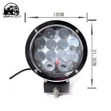 pair spot light IP 67 60W <b>6000K 12v 7 inch</b> Round Off road led Work ...