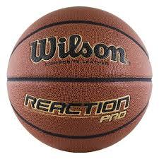 <b>Мяч баскетбольный WILSON Reaction</b> PRO, р.7, коричневый ...