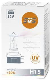 <b>Лампа</b> автомобильная галогенная SVS Standard +30% <b>H15 12V</b> ...