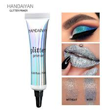 HANDAIYAN <b>Glitter</b> Primer Eye Shadow Pre-makeup Face Multi ...