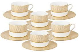 <b>Чайный набор Миллениум</b> Голд: 6 чашек + 6 блюдец <b>Naomi</b>