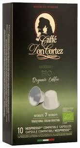 Купить Кофе в капсулах Carraro <b>Don Cortez Bio</b> (10 капс.) по ...