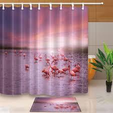 Теплый Тур 3D <b>Фламинго</b> группа полиэстер ткань Ванная ...