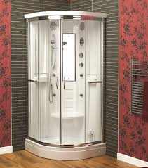 cabinets uk cabis: aqualux florenta quadrant steam shower enclosure cabin mm x mm