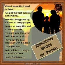 Happy Anniversary Mom & Dad - Poems and Anniversary Quotes for ... via Relatably.com
