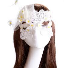 1 шт., модная сексуальная белая <b>кружевная маска для</b> глаз ...