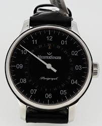 meistersinger perigraph bm1002 38mm luxury men s swiss watch perigraph bm1002 38mm