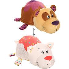 """Купить Мягкая игрушка-вывернушка 1toy """"ням-ням"""" <b>панда</b> с ..."""