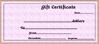 blank gift certificate template formal gift certificate template uploaded by adham wasim