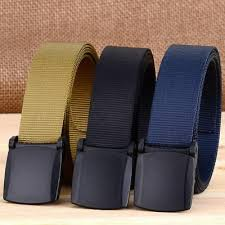 Men <b>Outdoor Tactical Sports</b> Nylon Waistband Military POM Buckle ...
