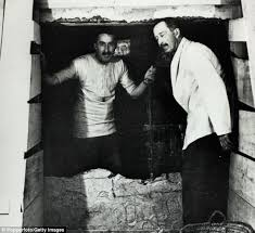 Image result for pictures of howard carter at the tomb