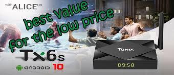 Tanix TX6S <b>Android 10.0</b> Smart 4K TV Box Review