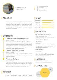 randa mahfouz resume personal portfolio resume as pdf format