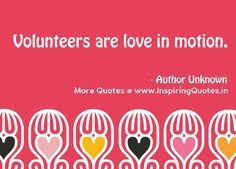 A Volunteer's heart... | Quotes | Pinterest