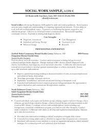 work resume examples social work  seangarrette cowork