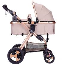 7.8 3 in 1 Belecoo <b>high landscape Baby stroller</b> can sit and fold fold ...