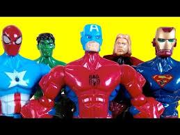 light super hero mashers adventure hulk iron man captain america superman thor batman thanks for watching if you like my video batman iron man fanboy