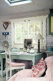 chic home office decor:  shabby chic office decor  inspiration decorating in shabby chic office decor