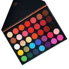 <b>Beauty Glazed 35 Colors</b> Pearlescent Matte Eyeshadow Palette ...