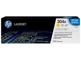 <b>HP</b> 304A, Оригинальный лазерный <b>картридж HP</b> LaserJet, Желтый
