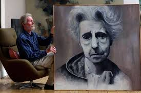 Wilson Smith who is auctioning off his paintings including a painting of a sufferer of Alzheimer's. A HEARTBROKEN artist who lost his wife to dementia is ... - wilson-smith-who-is-auctioning-off-his-paintings-including-a-painting-of-a-sufferer-of-alzheimer-s-36325143
