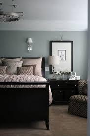 i love the black and dove greyduck egg blue combo kind of masculine black bedroom furniture ideas