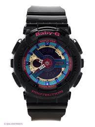 <b>Часы</b> Baby-G <b>BA</b>-<b>112</b>-<b>1A CASIO</b> 1984070 в интернет-магазине ...