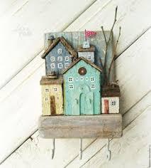 Домики: лучшие изображения (92) | Wooden crafts, Wooden ...