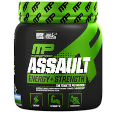 Musclepharm <b>Assault Energy</b> Plus <b>Strength Pre Workout</b> Supplement