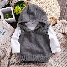 New 2015 <b>spring</b> autumn <b>children</b> sweater boys Knit Vest <b>kids</b> ...