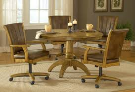 Dining Room Chairs With Casters And Arms Ideas For Dining Chairs With Casters 17579