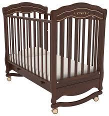 <b>Кроватка Гандылян Шарлотта</b> Люкс (качалка), на полозьях ...