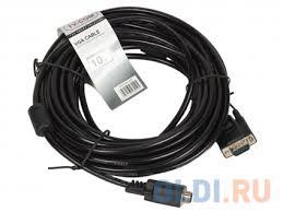 Кабель соединительный SVGA (15M/<b>M</b>) 10m 2 фильтра <b>TV-COM</b> ...