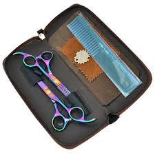 "5.5"" <b>Professional</b> Hair Scissors Set Barber Hairdressing Cutting ..."