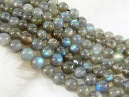 <b>Natural Labradorite</b> 6mm Indian Gray Round Gemstones Loose ...