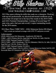 sponsor resume help non moto motocross forums message its not boring it grabs attention just enough information to get a good feel while keeping the prospective sponsor focused